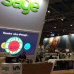 Sage stand at accountex