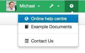 Online Help Centre