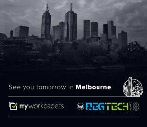 BGL REGTECH 2018 in Melbourne