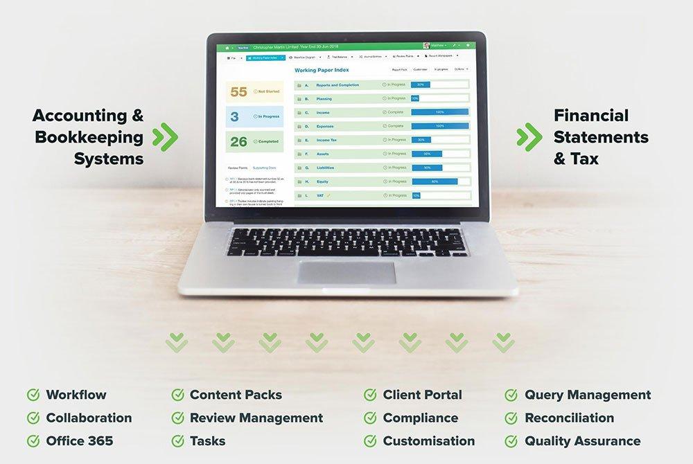 The digital workpaper platform for your practice