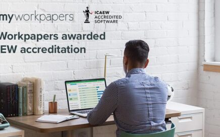 MyWorkpapers ICAEW Accreditation Banner