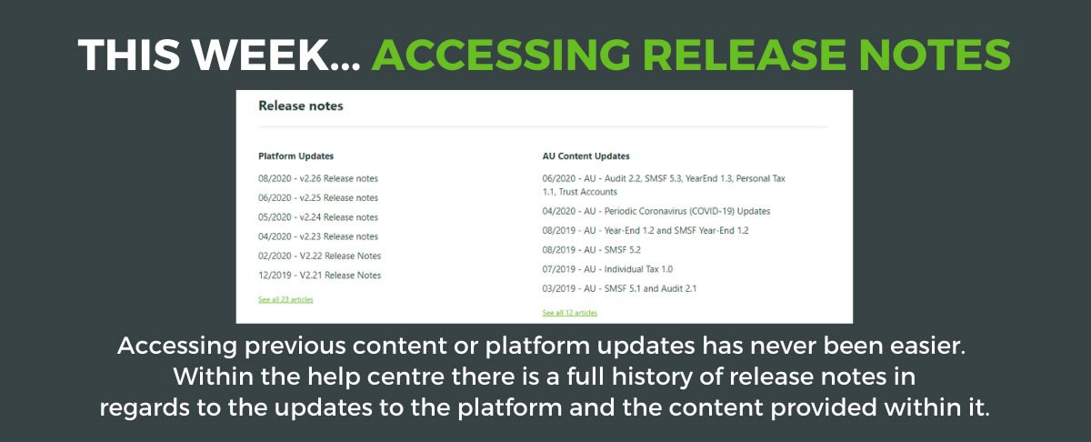 Accessing Release